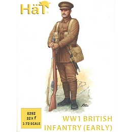 1/72 WWI British Infantry (Early) Box (HaT)