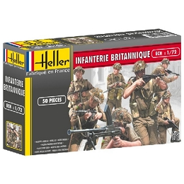 1/72 WWII British Infantry Box (Heller)