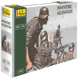 1/72 World War II German Infantry (Heller)