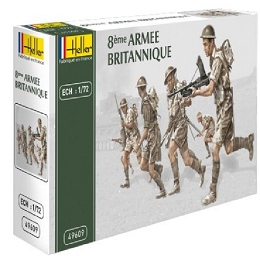 1/72 WWII British 8th Army Box (Heller)