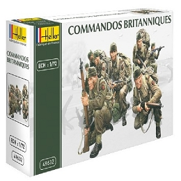 1/72 WWII British Commandos Box (Heller)