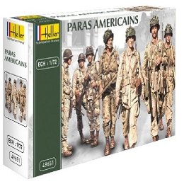 1/72 WWII U.S. Paratroopers Box (Heller)