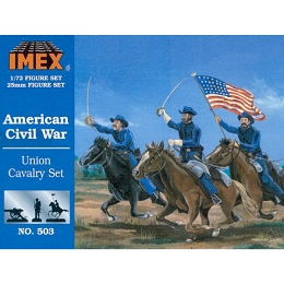 1/72 Union Cavalry Civil War Set (IMEX)