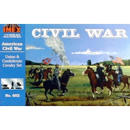 1/72 Union & Confederate Cavalry CW Set (IMEX)