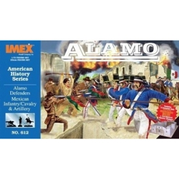 1/72 Alamo Defender Figure Set (IMEX) DISCONTINUED