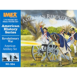 1/72 American War of Independence American Artillery (IMEX)