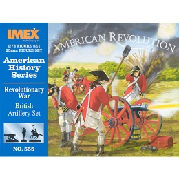 1/72 American War of Independence British Artillery (IMEX)