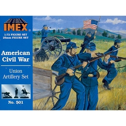 1/72 Civil War Union Artillery (IMEX)