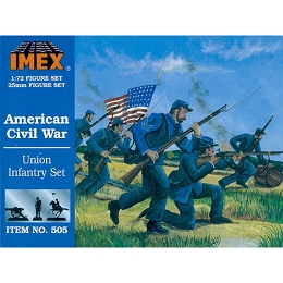 1/72 Civil War Union Infantry (IMEX)
