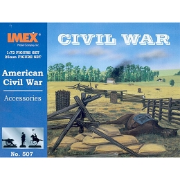 1/72 Civil War Accessories (IMEX)