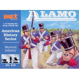 1/72 Mexican Infantry Alamo (IMEX)