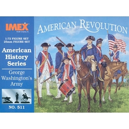 1/72 American Revolution Washington's Army (IMEX)