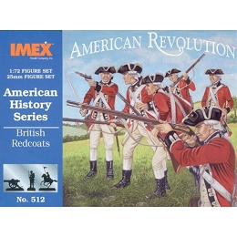 1/72 American Revolution British Redcoats (IMEX)
