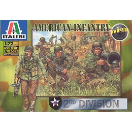 1/72 U.S. Infantry 2nd Division Box (Italeri)