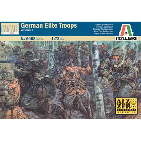 WWII German Paratroopers 20 mm Italeri 1//72