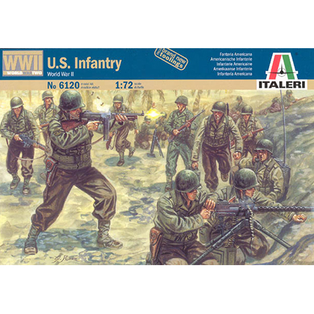 Italeri 6046-1//72 WWII US Infantrie Neu