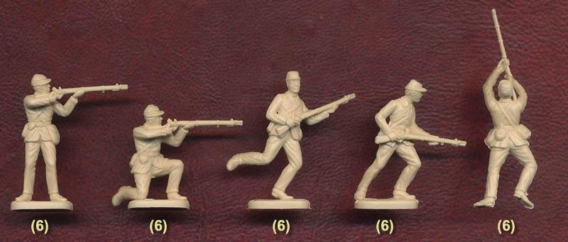 Italeri 6177-1//72 Union Infantry American Civil War Neu