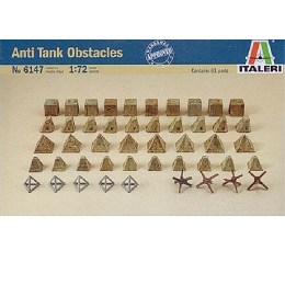 1/72 WWII Anti-Tank Obstacles (Italeri)