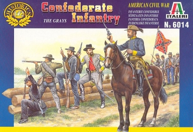 1/72 Confederate Infantry Box (Italeri)
