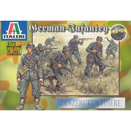 1/72 WWII German Infantry (50) (Italeri)