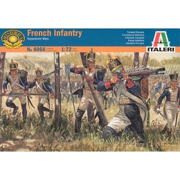 1/72 Napoleonic French Infantry (48) (Italeri)