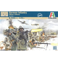 1/72 German Infantry (Winter) Box (Italeri)