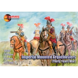 1/72 Thirty Years War Imperial Mounted Arquebusiers (Mars)