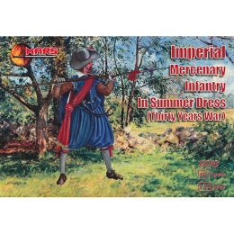 1/72 Thirty Years War Imperial Mercenary Infantry in Summer Dress (Mars)