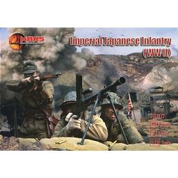 1/72 WWII Imperial Japanese Infantry (Mars)