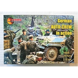1/72 WWII German Auto Crew Box (Mars)