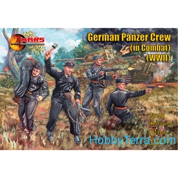 1/72 WWII German Panzer Crew in Combat Box (Mars)