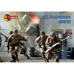 1/72 WWII WWII US Paratroopers (40) (Mars)