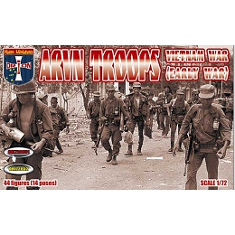1/72 Vietnam War ARVN Troops (Early War) Box (Orion)