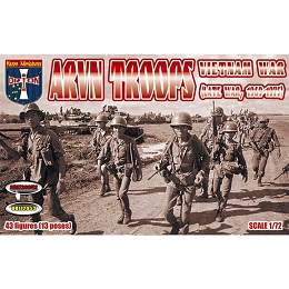 1/72 Vietnam War ARVN Troops (Late War) Box (Orion)