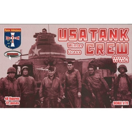 1/72 USA Tank Crew (Winter Dress) Box (Orion)
