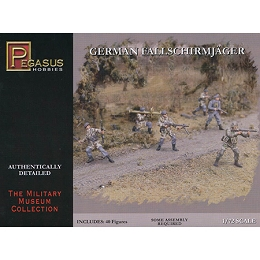 1/72 WW2 German Fallschirmjager Box (Pegasus)