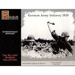 1/72 WW2 German Infantry 1939 Box (Pegasus)