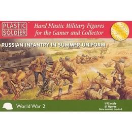 1/72 Russian Infantry in Summer Uniform (PSC)