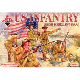 1/72 U.S. Infantry Box (Redbox)