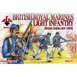 1/72 British Royal Marine Light Infantry Box (Redbox)