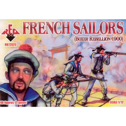 1/72 French Sailors Box (RedBox)