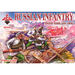 1/72 Boxer Russian Infantry (Redbox)