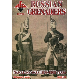 1/72 Napolonic Russian Grenadiers 1804-1808 (Redbox)