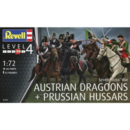 1/72 7-Years War Austrian Dragoons & Hussars (REV)