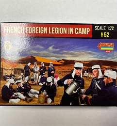 1/72 French Foreign Legion in Camp (STR)