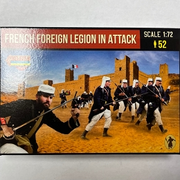 1/72 French Foreign Legion in Attack (STR)