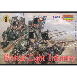 1/72 Crimean British Light Infantry (STR)