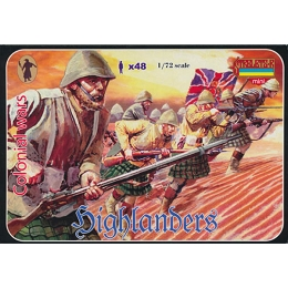 1/72 Anglo-Boer War - Highlanders 1898-1902 (STR)