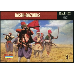 1/72 Russo-Turkish War -  Foot Bashi-Bazouk (STR)