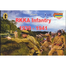 1/72 WW II RKKA Early Red Army Infantry 1939-41 (STR)